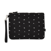 MICKEY CAMPING X WB CLUTCh / BLACK PATTE