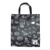 FOLDER X CRACKER TOTE BAG