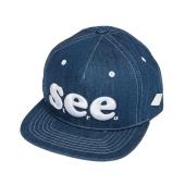 [S.V.ACE] SEE Snapback (Blue)