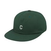SMALL C LOGO B.B CAP GREEN
