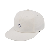 SMALL C LOGO B.B CAP WHITE