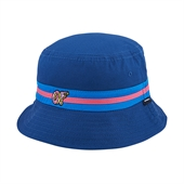 Turquoise/Pink OF Band Navy Bucket Hat/B