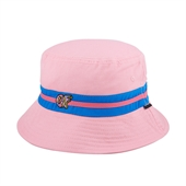 Turquoise/Pink OF Band Pink Bucket Hat/P