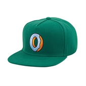Single Donut Kelly Green Snapback Hat/Gr
