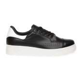 Carnaby PU leather sneakers_Black