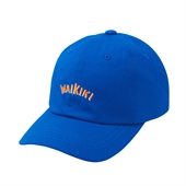 16 S/S WAIKIKI TWILL B.B CAP BLUE
