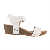 Basic Wedge Sandal_White