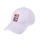 frame baseball cap/WHITE