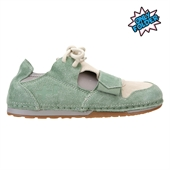 LOW SUEDE,HEDGE GREEN/ANGORA
