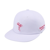 [White Garden] Flower 6P Cap (White)