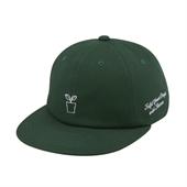 [White Garden] Gardening 6P Cap (Green)