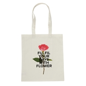 [White Garden] Slogan Eco Bag (Ivory)
