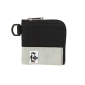 Square Coin Case Sweat Nylon/Grey