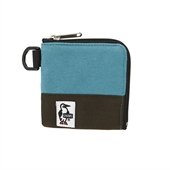 Square Coin Case Sweat Nylon/Blue