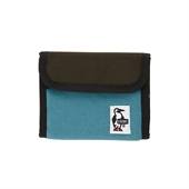 Trifold Wallet Sweat Nylon/Blue