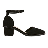 mid heel_Square_Blackaaa