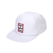 FRAME 6 PANEL CAP/WHITE
