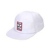 FRAME 6 PANEL CAP/WHITE