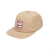 FRAME 6 PANEL CAP/BEIGE