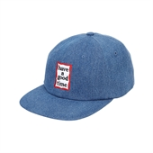 FRAME 6 PANEL CAP/DENIM