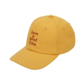 LOGO BASEBALL CAP/YELLOW