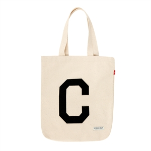 C LOGO ECO BAG IVORY