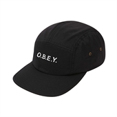 CONTORTED 5 PANEL/Black