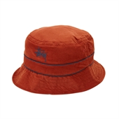 CORD BAND BUCKET HAT /Orange