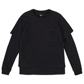 O'DYED DOUBLE TEE/Black