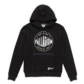 Logo hoody,BLACK