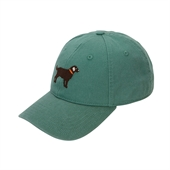 H-L Chocolate Lab on Dark Moss(GREEN)