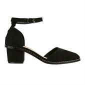 mid heel_Square_Black