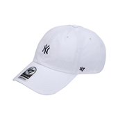 YANKEES WHITE BASE RUNNER 47 CLEAN UP