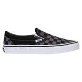 Classic Slip-On Black/Pewter Checkerboar