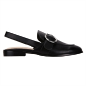 Backless loafer_Black