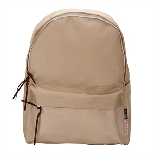 1680D STANDARD BACKPACK BEIGE