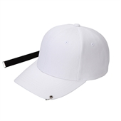 long strap cap White