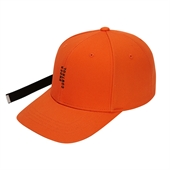 vertical logo cap Orange