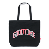 GOODTIME COLLEGE TOTE BAG Black