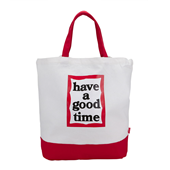 FRAME 2-WAY TOTE BAG Red