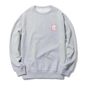 MINI FRAME CREWNECK Gray
