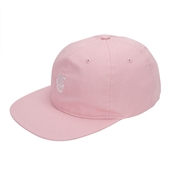 CREEPER FACE 6 PANEL HAT Pink