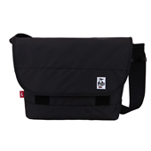 Eco Logo Messenger Bag Black