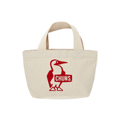 Booby Mini Canvas Tote White