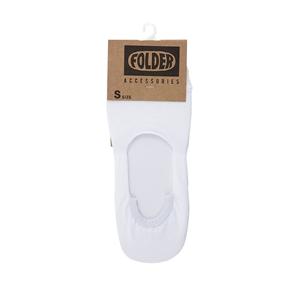 FOLDER Fake socks_White