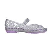 Crocs Isabella Glitter Flat PS_Sil