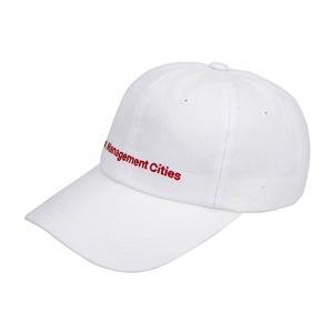 FULL LETTER CURVED 6PANEL CAP_White
