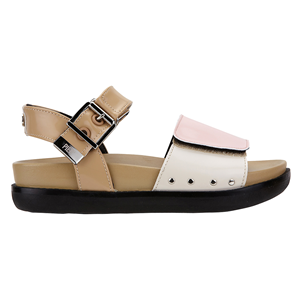 Choker Velcro Sandal_Pink