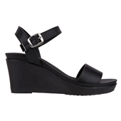 Wedge Sandal_Black (W)