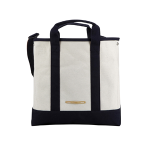 R TOTE 930 CANVAS Ivory/Navy
